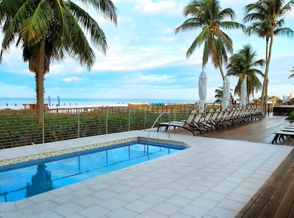 Pool Deck and Lounge Chairs