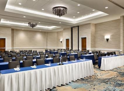 Embassy Suites Monterey Bay - Seaside, CA - Meeting Room Classroom Event