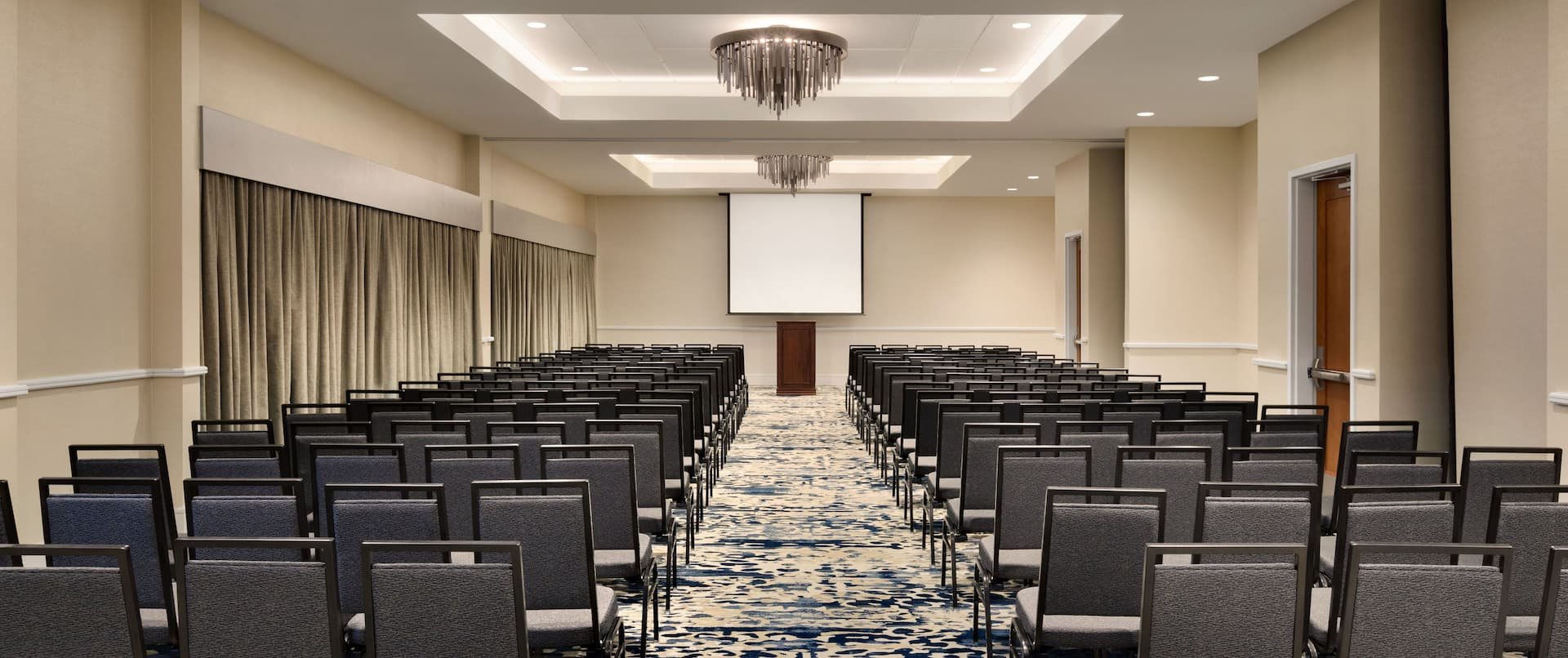 Embassy Suites Monterey Bay- Seaside, CA - Meeting Room Theatre Setup