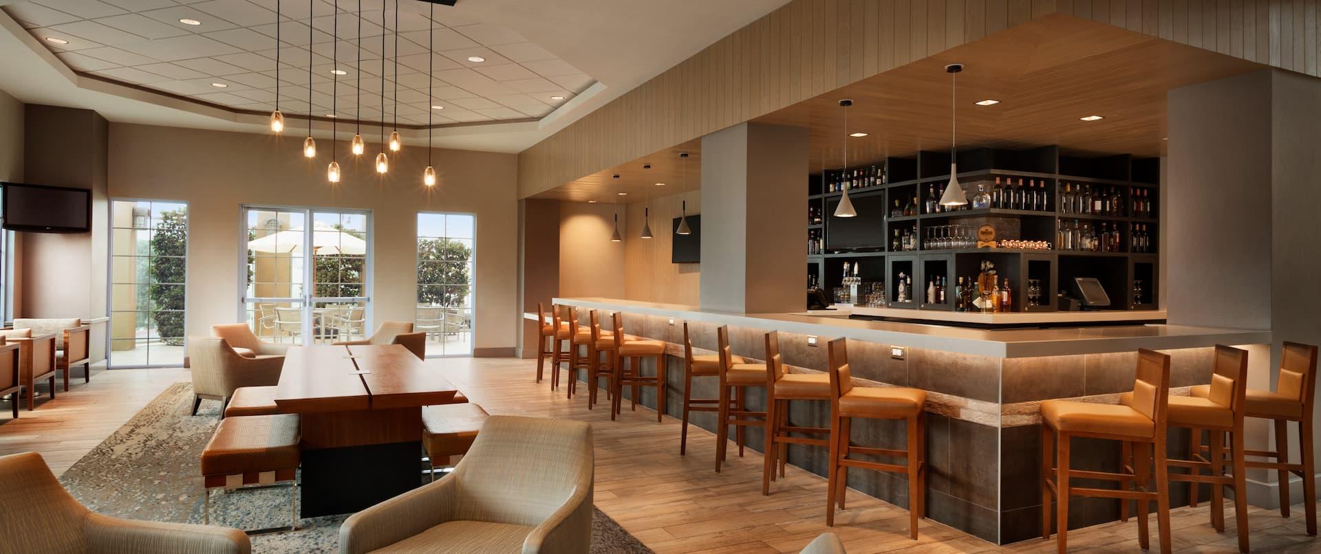 Lounge Area and Bar