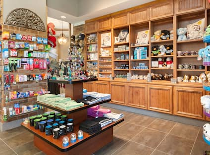 Gift shop with teddy bears