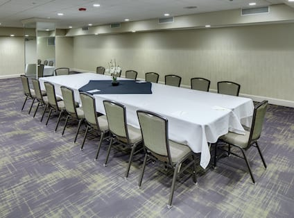 Dean Meeting Room with Conference Style Setup