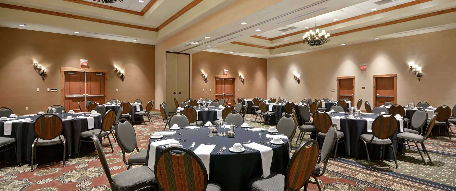 Meeting Room with Banquet Setup