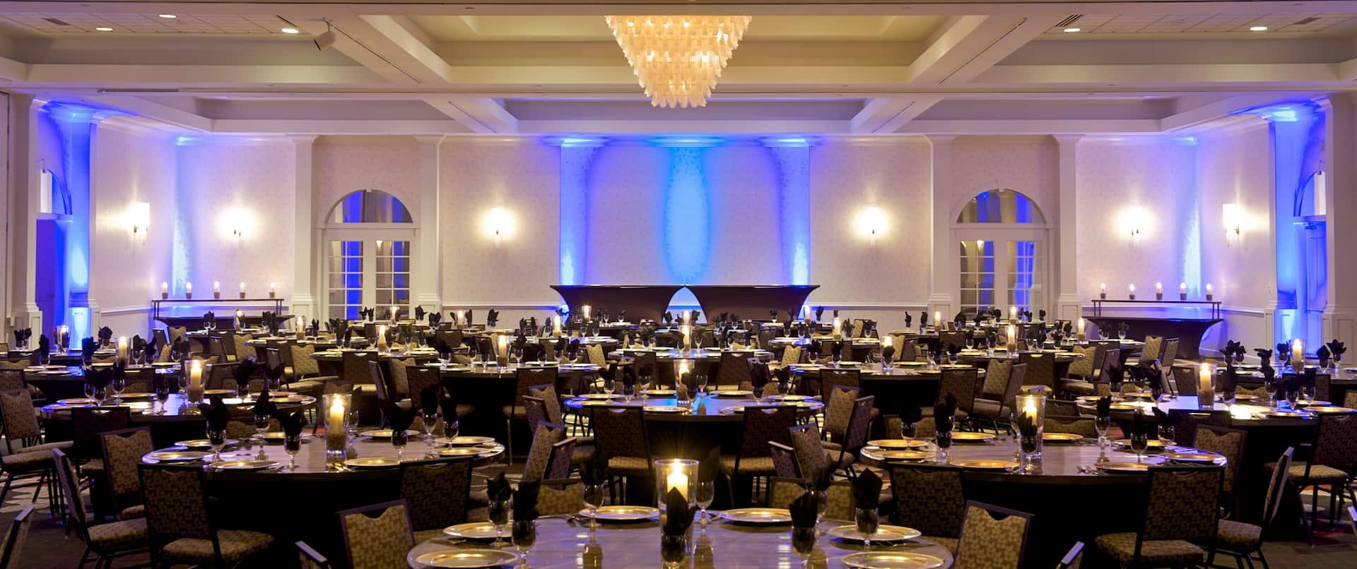 MN Valley Ballroom, Banquet Style