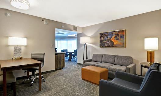 Corner King Living Area
