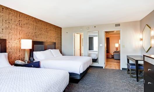Double Queen Suite Bedroom