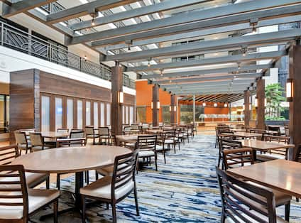 Complimentary Breakfast and Evening Reception Seating