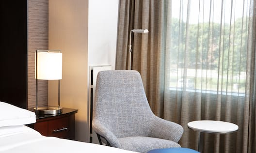 Accent Chair in Hotel Guest Room