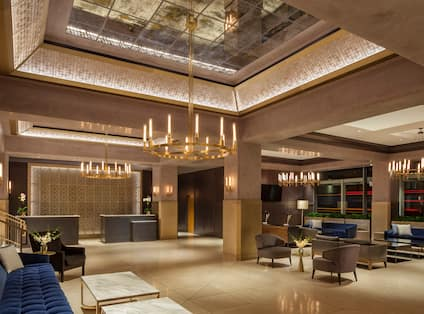 The Marquette Hotel, Curio Collection by Hilton, MN - Hotel Lobby