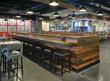 Restaurant Seating Area