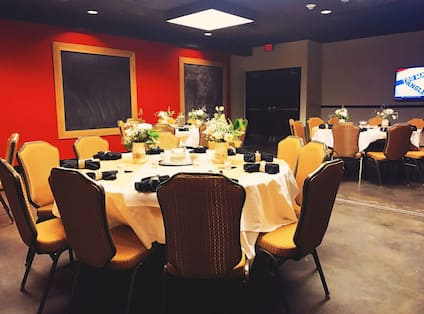 Private Dining Room with Roundtables