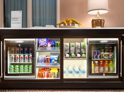 Snacks and Drinks Credenza