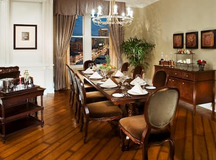 L. Armstrong Suite Dining