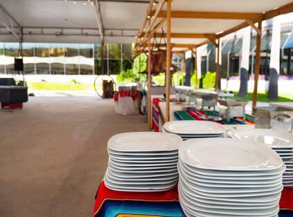 Garden Terrace Setup