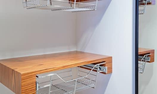 Guestroom closet