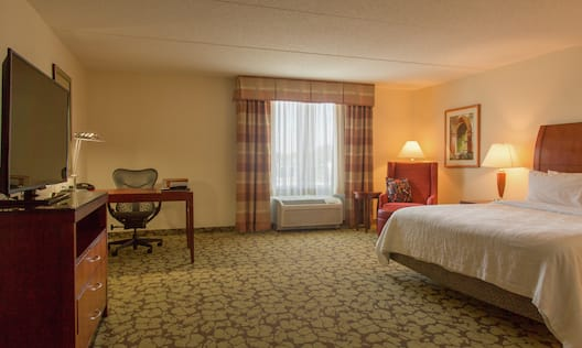 Accessible Guest Room with King Bed and Work Desk