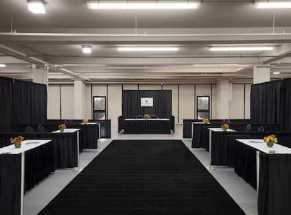 Tradeshow Area with Booths