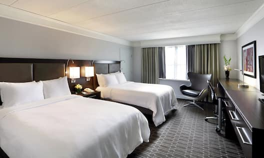 Guestroom with Two Double Beds