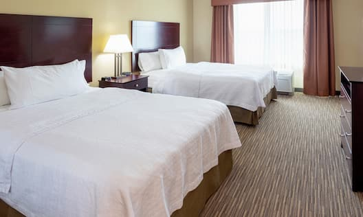 Accessible Suite with Double Queen Beds and Room Technology