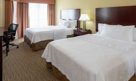 Double Queen Suite with Two Beds, Work Desk, and Room Technology