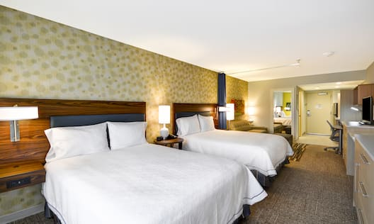 Home2 Suites by Hilton Opelika Auburn Hotel, AL - 2 Queen Studio Beds