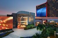 Rendering Image of Hotel Exterior