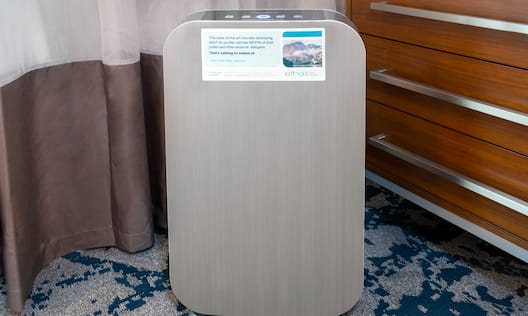 Air Filter in Guest Room
