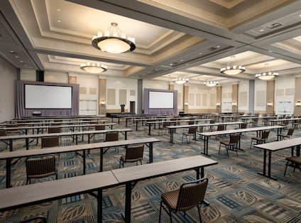 Hilton Ballroom Setup Classroom Style