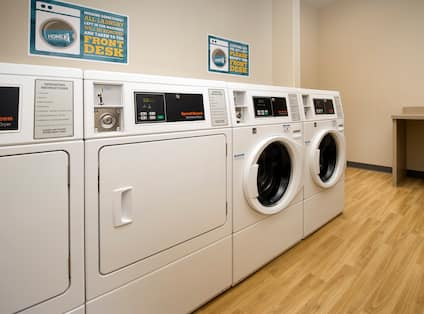 Coin Operated Guest Laundry