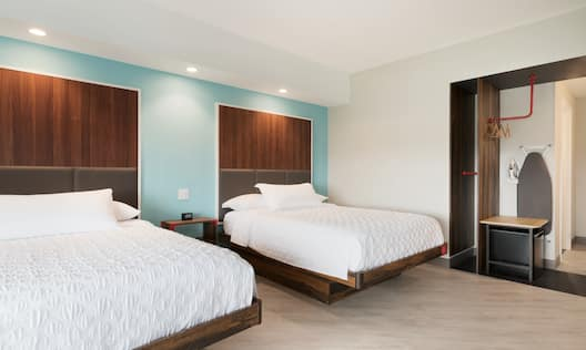 Accessible Guest Room with Two Beds