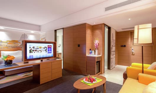 King Suite with Lounge Area and Room Technology