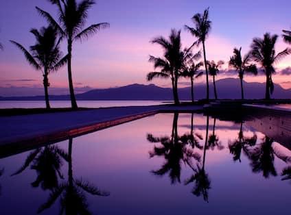Sunrise over Pool