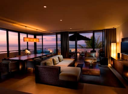 Two Bedroom Penthouse at Dusk