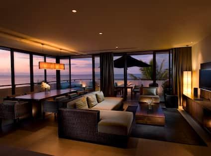 Three Bedroom Penthouse Living Area