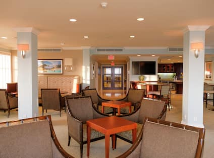 View of Executive Lounge Area