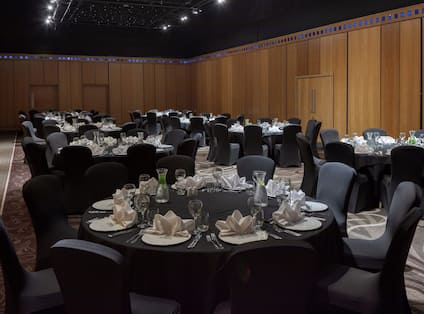Gateshead Suite Section With Banquet Set Up