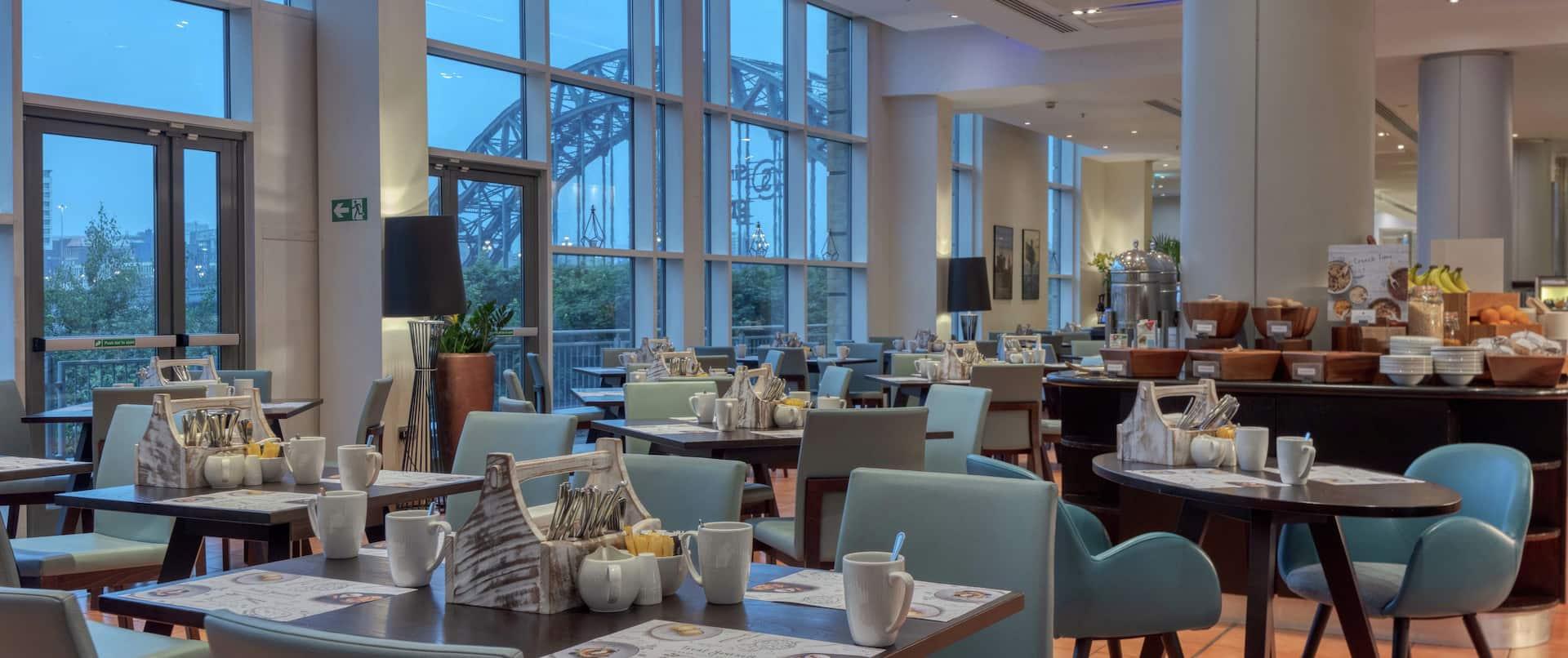 Windows on the Tyne Restaurant Breakfast Area