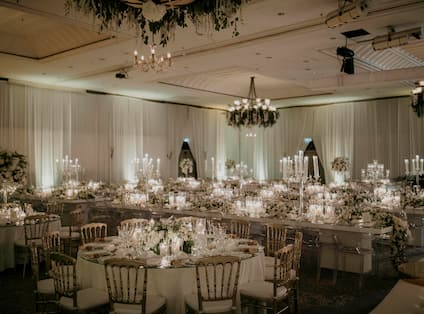 Event Tables and Chairs Setup