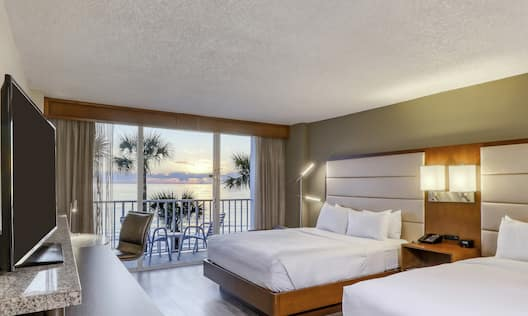 Gulf View Two Queen Beds