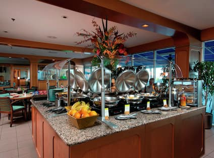 Mangos Buffet and Dining Area