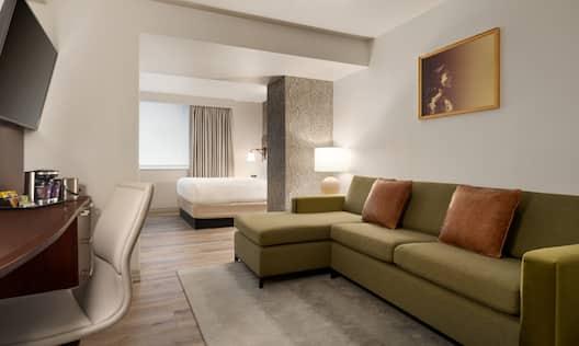 Junior Suite Lounge Area