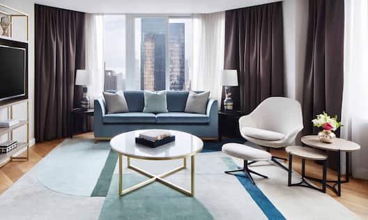 Park View Apartment Living Room