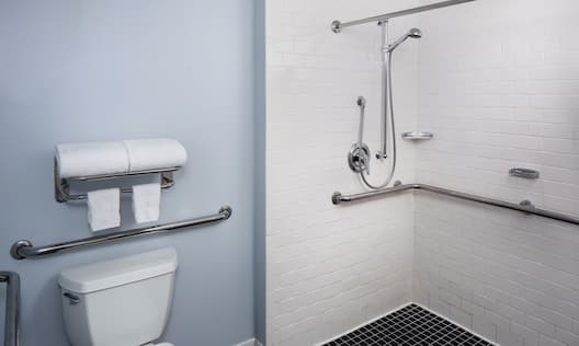 Queen Accessible with Shower