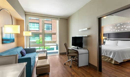ADA Suite Living Area