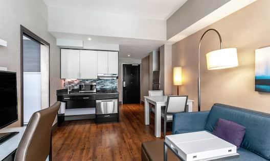 ADA Suite Living Area View