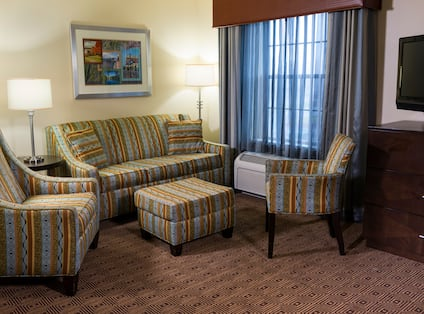 Guest Rooms Seating Area