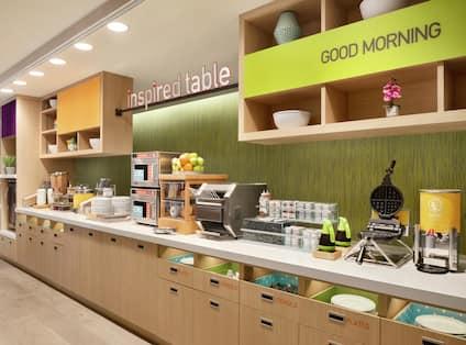 Inspired Table Breakfast Area