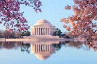 Jefferson Memorial in Spring