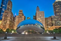 The Bean sculpture in Chicago