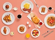 Book our breakfast package